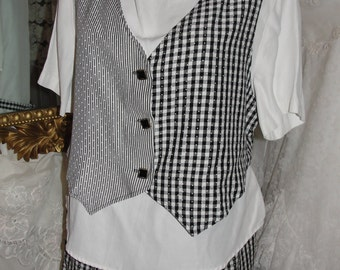 Vintage clothing, vintage shorts set, womens clothing, vintage shorts,summer clothing, spring clothing