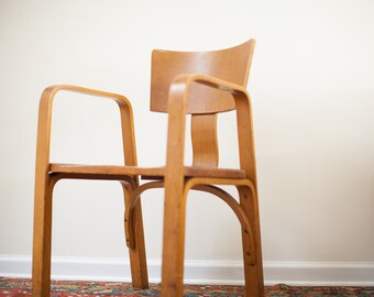 DISCOUNTED Early Vintage Thonet Bent Plywood Chair