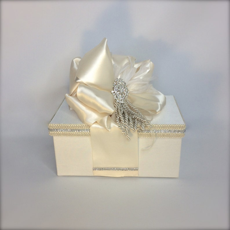 Elegantly. Maid of Honor Cover Box Handmade Unique Bride Gift Box Custom Made Bride To Be Shoe Gift Box