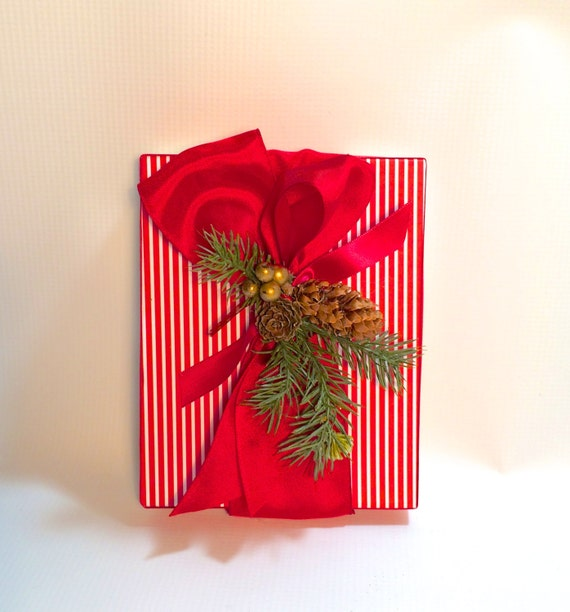 Christmas Gift Box.Gift Box Christmas Gift Wrap Gift Cards Pre Wrapped Gift Box Bridesmaid Gift Grooms Gift Tip Box Christmas Decoration