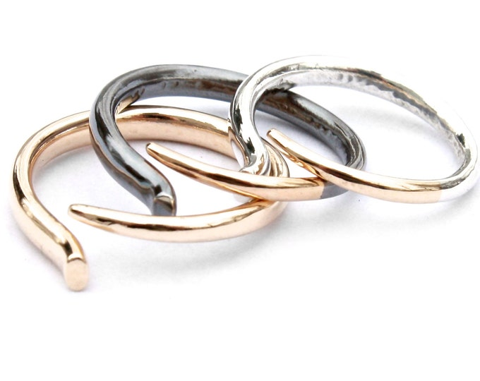 Quill Ring- Claw Stacking Ring