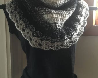 Crochet Lace Cowl Ready to Ship