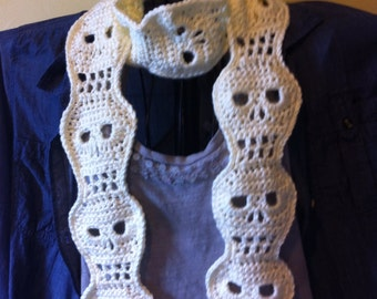 Skull Scarf Made to Order - Any Color