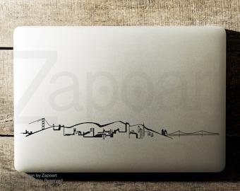 San Francisco Skyline Sticker Decal Laptop Decal iPad