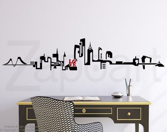 Philadelphia Skyline Wall Decal