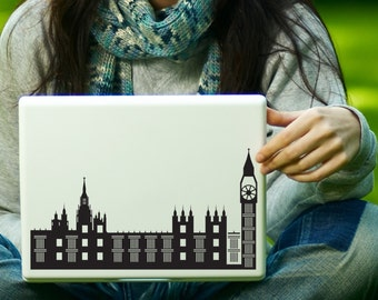 London Big Ben and The Palace of Westminster Sticker Decal Laptop Decal iPad