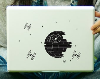 Death Star Decal Laptop Decal iPad