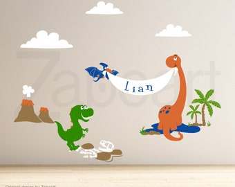 Dino Land Dinosaurs Wall Decal