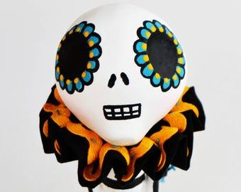 Day of the Dead - Skelly Mixed Media - Dia de los Muertos - Skelly Figurine