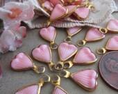20-1950 39 s Vintage Pink Petal Or Leaf