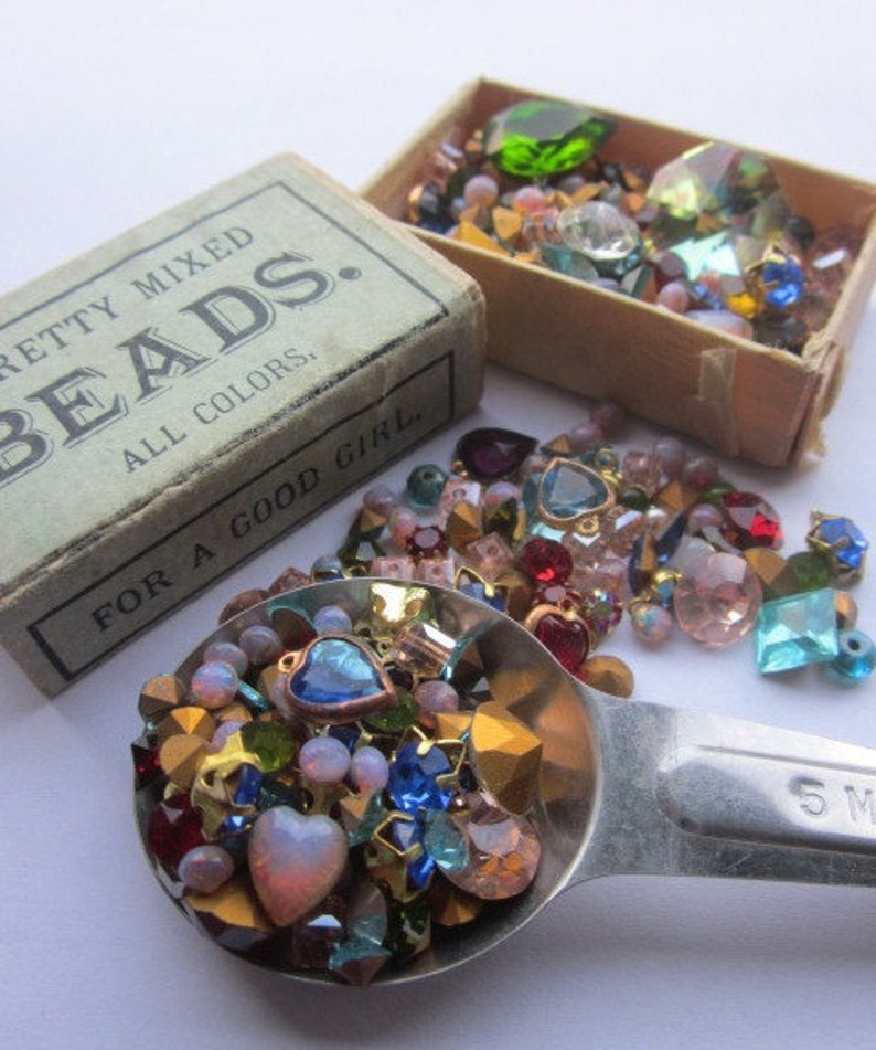 Recipe for fun .....About 50 Vintage Swarovski Gems And Jewels image 0
