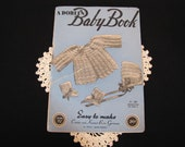 1940s Crochet and Knitting Patterns Baby Book Baby garments to Crochet and Knit No. 206