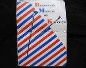1950s Knitting Patterns Beginners Manual of Knitting Star Book No. 77 Knitting Instruction