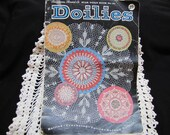 1950s Vintage Doily Patterns Star Book No. 151 Instruction Book Crocheted Knitted Tatted Ruffled Doilies Patterns