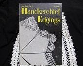 1940s Vintage Crochet Patterns Handkerchief Edgings Star Book No. 61 Instruction Book Crochet Patterns