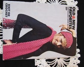 Vintage Crochet Patterns Coats and Clark Book No. 205 Crochet Bikini Pattern Crochet Lace Stole Crochet Vest Pattern