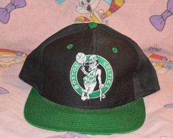 san francisco be24d f3fc2 ... sale vintage 1990s boston celtics nba hat deadstock basketball snapback  5569d fab70
