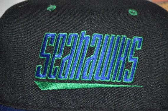 Vintage 1990's Seattle Seahawks Snapback! 90s Haw… - image 2