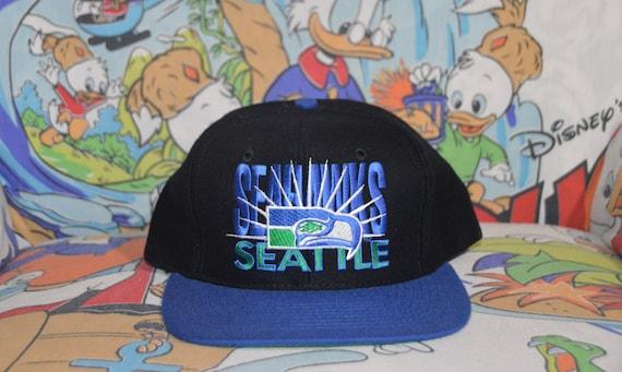 Vintage 1990's Seattle Seahawks AJD Snapback! 90s… - image 1