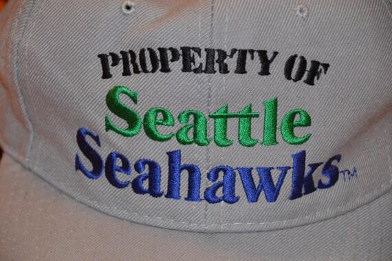 Vintage 1980's Seattle Seahawks Snapback! Retro H… - image 5