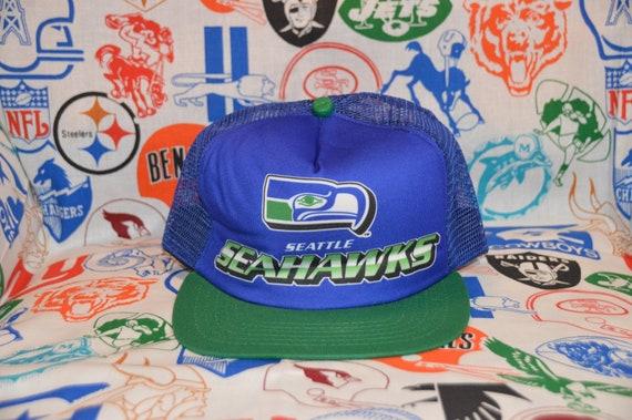 Vintage 1980's Seattle Seahawks Trucker Hat Snapba