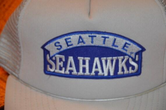 Vintage 1980's Seattle Seahawks Snapback! Retro H… - image 2