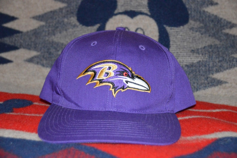 74c8d16b Vintage 1990's Baltimore Ravens Snapback!!! Retro NFL Football Hat!!!