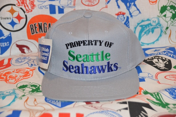 Vintage 1980's Deadstock Property of Seattle Seaha