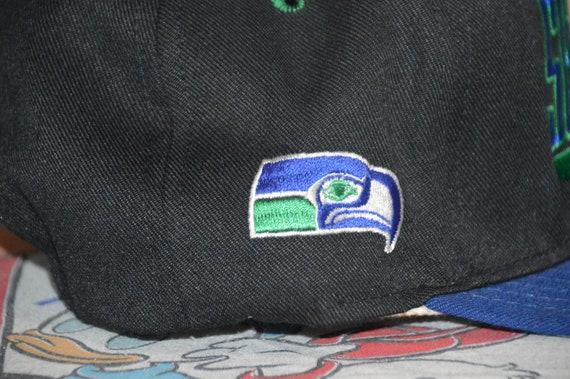 Vintage 1990's Seattle Seahawks Snapback! 90s Haw… - image 4