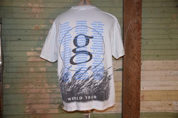 Vintage 1990s Garth Brooks Fresh Horses World Tour Shirt!!! Country Western Concert Tee!!!