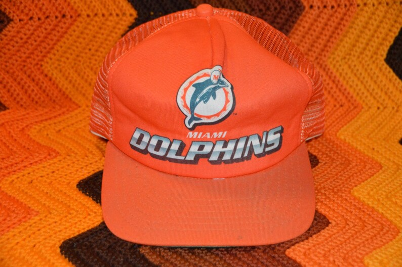 1d370334 Vintage 1980s NFL Miami Dolphins New Era Snapback Retro Pro | Etsy