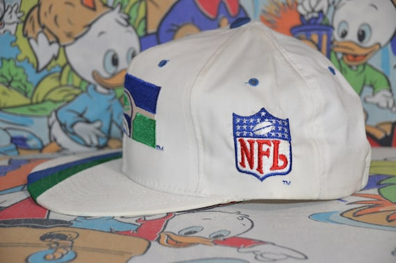 Vintage 1990's Seattle Seahawks Starter Plain Log… - image 3