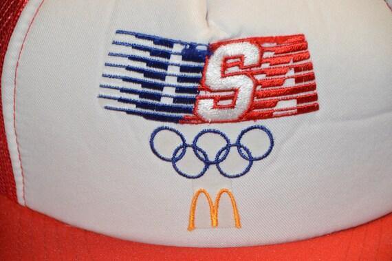Vintage 1980's McDonalds Team USA Olympics Trucke… - image 2