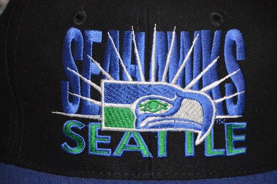 Vintage 1990's Seattle Seahawks AJD Snapback! 90s… - image 3