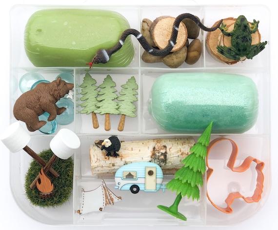 Peppa Pig Play doh Kit Playdough Sensory Kit Kids Gifts Play dough Kit Sensory Box Kids Sensory Kit Busy Box Sensory Kits for Kids