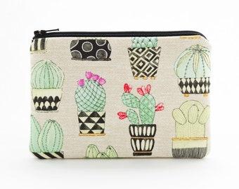 Cactus coin purse | Etsy