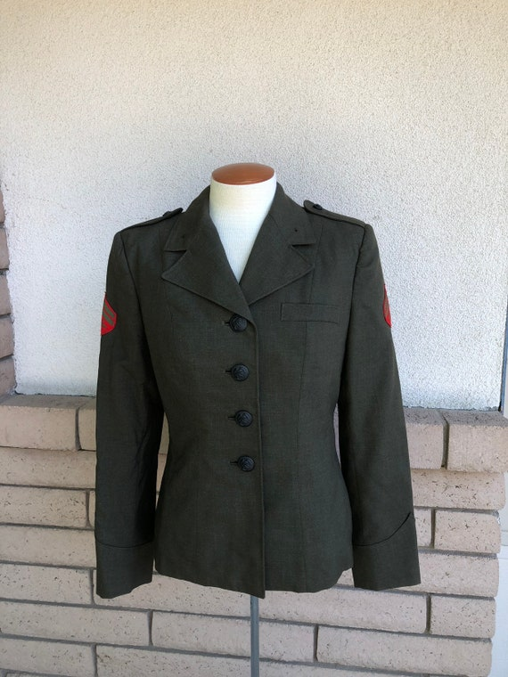 Vintage Women s Army Uniform Jacket Official US Military  83ad55931