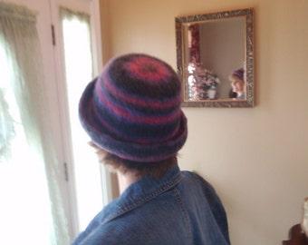 Swanky Stripes Purple Bowler