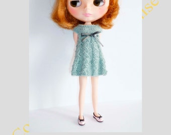 ENGLISH - PDF Pattern for Blythe knitted dress