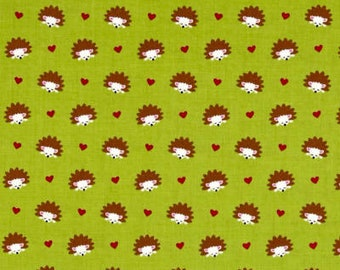 Hedgehog Heaven Fabric