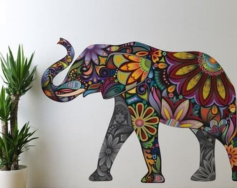 SALE TODAY Elephant Decal Wall Decor