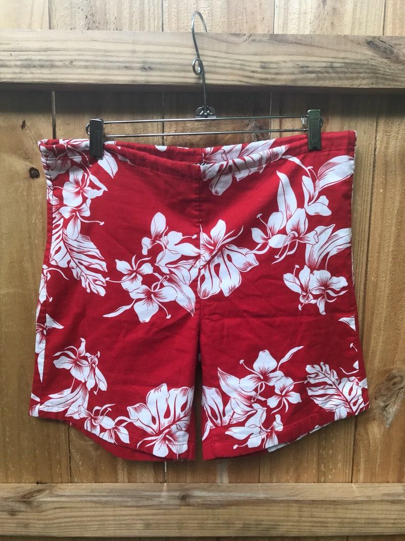 db0f4a49752ee Mens Vintage Hilo Hattie Swim Hawaiian Shorts Size Small /   Etsy