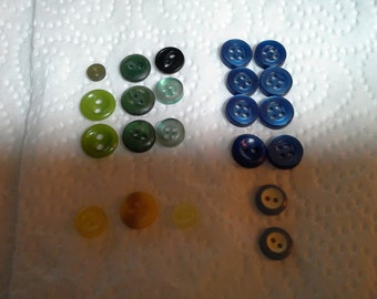 Very Small Doll Buttons