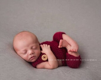 baby romper - boy photo outfit -  baby first photo outfit - Boy romper photo prop - newborn boy outfit - newborn boy photo prop