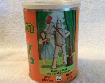 Wizard of OZ jigsaw pizzle by casse-tete Dorothy and the Woodsman 200 pieces