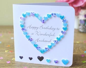 Handmade Birthday Card For Husband