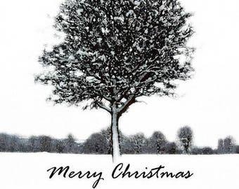 Pack of 5 Christmas Cards 'Crisp Winter Morning' Winter Snow Scene, Holidays, Xmas Pack Set, Corporate Christmas Cards, Christmas Photograph