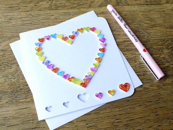 Carte de Vœux-Carte d/'anniversaire-I Love McDonald/'s