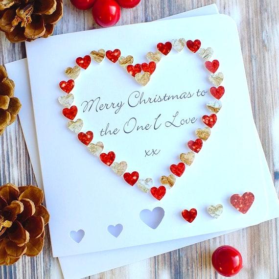 Frohe Weihnachten Liebe.Frohe Weihnachten An Die Die Ich Liebe Perfekte Weihnachtskarte Fur Frau Mann Freundin Oder Freund