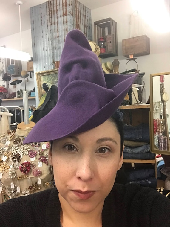 Custom Made To Order Harry Potter Inspired Sorting Witch Hat.  ecb76cb8500f